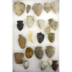 New Mexico Estate Stone Arrowheads Plus