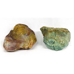 New Mexico Jasper & Chrysocolla Specimens