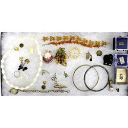 Collection of Estate Costume Jewelry