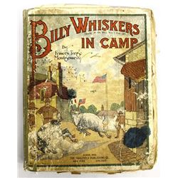 Antique Billy Whiskers in Camp Book by Montgomery