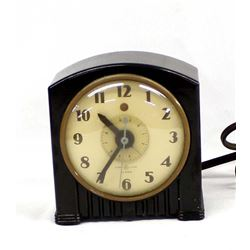 Vintage General Electric Bakelite Alarm Clock
