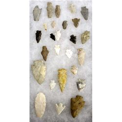 Collection of Stone Arrowheads
