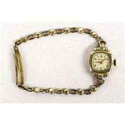 Vintage Estate Bulova Gold Filled Ladies Watch