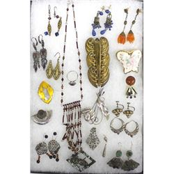 Collection of Vintage Estate Jewelry