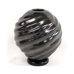 Mata Ortiz Highly Burnished Swirl Jar by Ramirez