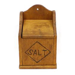 Kitchen Wooden Salt Box