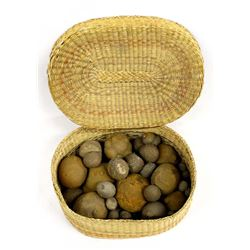 Basketful of New Mexico Concretions