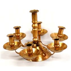 Hand Forged Copper Candleholder