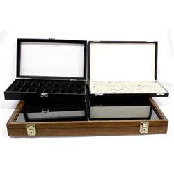 3 Jewelry Display Cases