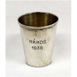 1938 Bachruch Rakos Sterling Silver Shot Glass