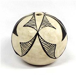 Vintage Acoma Pottery Seed Jar by Lee Concho
