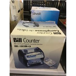 Bill Counter w/ Counterfeit Detection