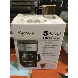 Capresso 5-Cup MinidripProgrammable Coffee Maker
