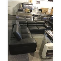 Black Sofa Sectional