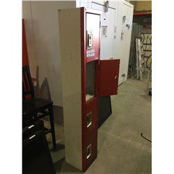 4-Tier Storage Lockers
