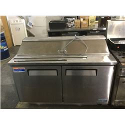 """Turbo Air 60"""" Sandwich/Salad Prep Table w/ Refrigerated Base Model:MST-60"""