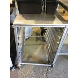 "Half Sheet Pan Rack w/ Top 26"" x 22"" 31"" H"