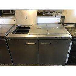 DelfieldRefrigerated Prep Table Model: 4448N-18M QZN