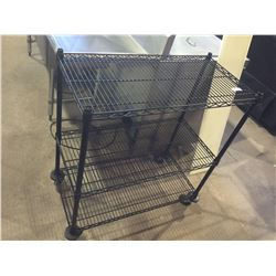 "3-Tier Storage Rack 36"" x 18"" x 40"" H"