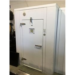 QBD Cooling Systems Solid Door Walk-In Freezer with floor, 82 X 66 INCHES. Complete with 230V Model