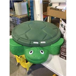 Little Tikes Turtle Sandbox w/ cover