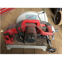 MILWAUKEE HEAVY DUTY CHOP SAW