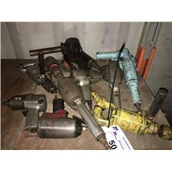 GROUP OF 9 ASSTD AIR TOOLS