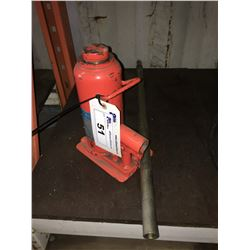 JET 22-1/2 TON HYDRAULIC BOTTLE JACK
