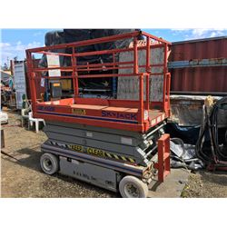 2003 SKY JACK MODEL-4626 SCISSOR LIFT (REACHES 26' IN HEIGHT)