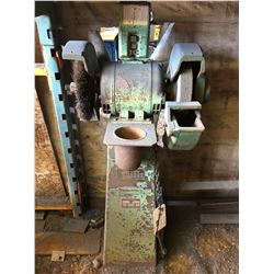 FORD SMITH PEDESTAL INDUSTRIAL GRINDER