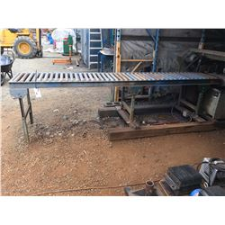 MATERIAL ROLLER TABLE APPROX 11'