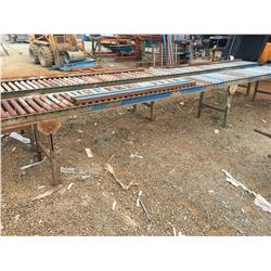 DUAL MATERIAL ROLLING TABLE SET APPROX 20'