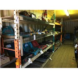APPROX 34' HEAVY DUTY SHELF RACKING SYSTEM