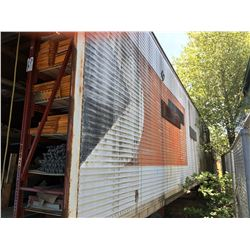 53' TRACTOR TRAILER, NO REGISTRATION, AS IS,  FOR PARTS OR STORAGE ONLY