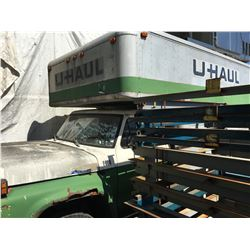 OLD U-HAUL 20' MOVING TRUCK, NO REGISTRATION, AS IS, FOR PARTS OR STORAGE ONLY
