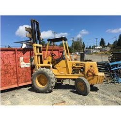 1973 CASE 580BCK 6000LB FORKLIFT (3,154 HR'S) *MUST STAY ONSITE UNTIL MONDAY JULY 22ND*