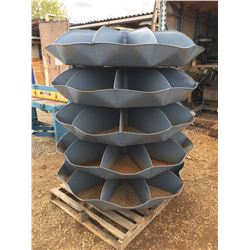 5 TIER REVOLVING METAL PARTS/HARDWARE BIN