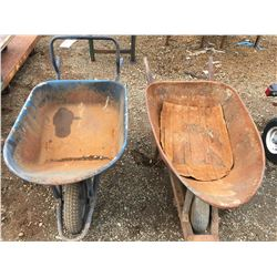 2 WHEELBARROWS