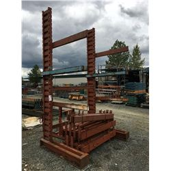 SINGLE SIDED CANTILEVER STORAGE RACK