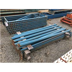 MASTO SHELF/PALLET RACKING UPRIGHTS & BEAMS (BLUE)