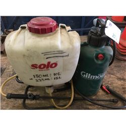 2 PRESSURE SPRAYERS