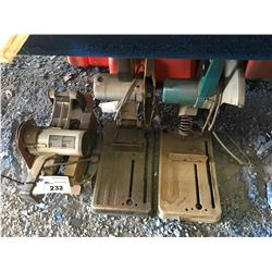 3 ASSTD CHOP SAWS FOR PARTS OR REPAIR