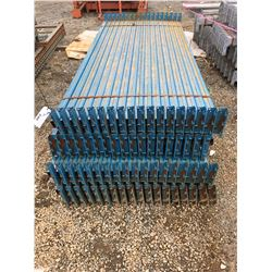 LARGE BUNDLE OF READY RACK BEAMS ONLY (BLUE)