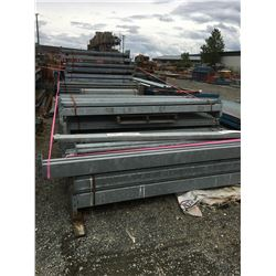 6 BUNDLES OF READY RACK - BEAMS ONLY (GALVANIZED)