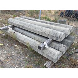 GROUP OF 7 CONCRETE CURBS