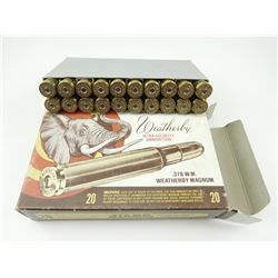 WEATHERBY ULTRA-VELOCITY .378 W.M. MAGNUM AMMO