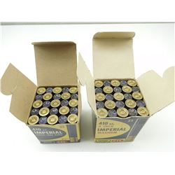 "IMPERIAL 410 GAUGE 2 1/2"", 410 GAUGE 3 ""  SHOTGUN SHELLS"
