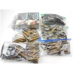LONG RIFLE AMMO, BRASS, BLANKS, STRIPPER CLIPS, CO2 POWERLETS, BRASS CASES ASSORTED