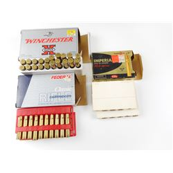 303 BRITISH AMMO ASSORTED, BRASS CASES