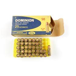 DOMINION 25 AUTOMATIC AMMO